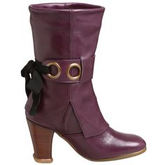 John Fluevog Inge Cuffed Boots - featured on Syfy's Alice miniseries. I must have these boots for next Halloween for my Alice costume.