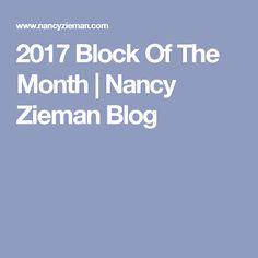 2017 Block Of The Month | Nancy Zieman Blog