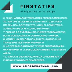 #tips #consejos #trucos sobre #instagram