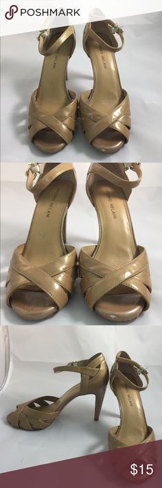 Antonio Melani Tan Heels Size 8 M There are a few scuffs. See photos for condition. ANTONIO MELANI Shoes Heels
