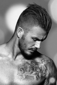 how to style your hair like david beckham mens haircut like 60 s or undercut on 3671 | d22926be090add88c8b034fa3e61c26e