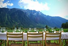 Dinner party with a view!