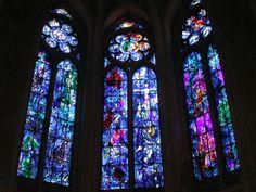 Vitraux de Chagall, La cathédrale Notre-Dame de Reims