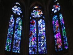 Chagall stained glass - Paris