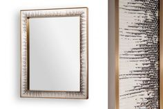 NEW from Tuell + Reynolds-Cayman Mirror Interior Accessories, Interior Styling, Interior Design Resources, Contemporary Interior Design, Oversized Mirror, Frame, Screens, Mirrors, Decorations