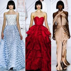 Some of My Favorites From The Ralph & Russo Spring 2017 Couture.  #ralphandrusso #designer #style #spring2017couture #dresses #fashion #pfw #moda #pfw17 #parisfashionweek  #fashionstyle #parisfashionweek2017 #spring2017 #fashionblogger #catwalk #fasicmode #hautecouture #couture2017 #collection #fashionista #runway #fashionist  #beauty #spring #glam #fashionblog #fashionpost #glamour