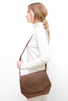 big LYNN brown dots #leather #bag #mayennenelen
