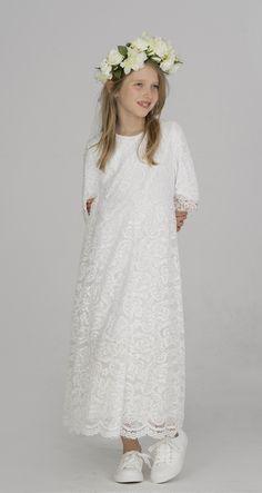 Girls Dresses, Flower Girl Dresses, Kids And Parenting, White Dress, Grey, Wedding Dresses, Black, Design, Fashion
