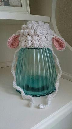 Crochet Newborn baby, lamb hat