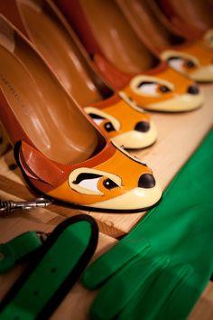 Bambi heels -- OMG I want these! #Disney