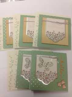 Cottage Greetings card kit
