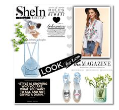 """shein"" by mickey-iv ❤ liked on Polyvore featuring Chiara Ferragni, MANU Atelier, LSA International and Christian Dior"