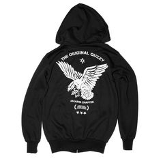 "FREE BIRD SWEATER | IDR 220.000 | This regular fit men's sweater features the black ""free bird"""