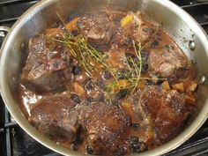 zin braised lamb chops