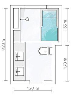 Resultado de imagem para planta banheiro com banheira
