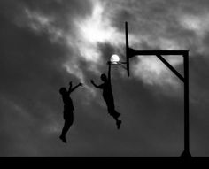 Play basketball for a great outdoors bucks party activity.