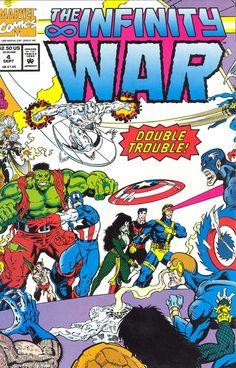 Infinity War # 4 by Ron Lim & Al Milgrom