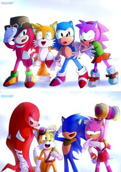 Is it me or do I really want to see Sonic the Hedgehog get beten up by Amy😂💝 - Timeline Photos - Sonic The Hedgehog by Kill_devon, includes OVA Knuckles Sonic And Amy, Sonic And Shadow, Sonic Fan Characters, Video Game Characters, Hedgehog Movie, Sonic The Hedgehog, The Blue Boy, Godzilla, Sonic Generations