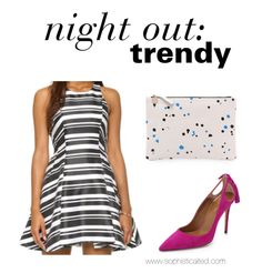 Trendy night out look