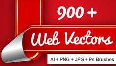 Deal - Vectors with PNG and Photoshop Brushes Do not miss this amazing deal