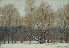 Winter Forest, Clark Greenwood Voorhees. American (1871 - 1933)