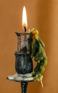 Tips for Living Wicca: Tips for Living Wicca: Clean Up Your Candle Wax