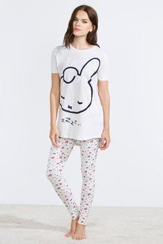 women'secret | Productos | Pijama largo de Miffy en algodón 19,99 € Cute Pajama Sets, Cute Pajamas, Cute Sleepwear, Lingerie Sleepwear, Looks Kawaii, Pijamas Women, Pajama Outfits, Cute Lazy Outfits, Purple Fashion