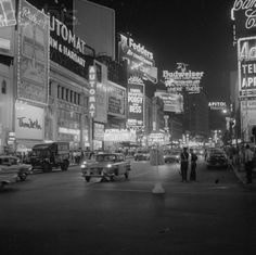 Times Square, New York City, 1959.