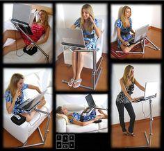 fashion design folding laptop desk for standing $25~$40