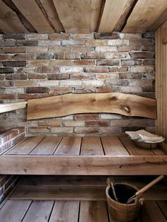 Sauna and onsen (Japanese bath tub) combining in some way Shed Conversion Ideas, Sauna Design, Japanese Bath, Spa Rooms, Saunas, Rustic Bathrooms, Cozy House, Home Buying, My Dream Home
