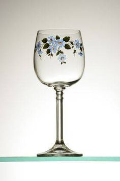 How to Paint on Glassware