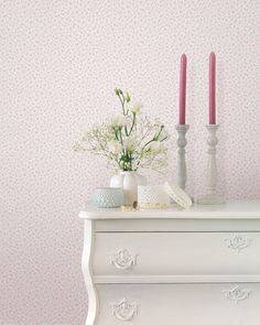 Luxury Wallpaper, Designer Wallpaper, High Quality Wallpapers, Girl Room, Artisan, Floral, Pink, Rooms, Classic