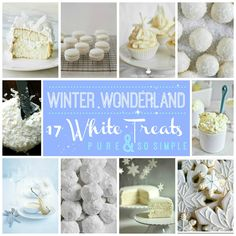 Winter Wonderful: 17 All-White Desserts To Get You In The Holiday Spirit