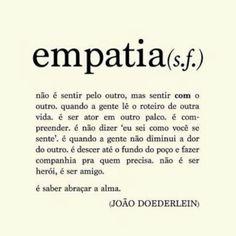 Vc tem empatia?