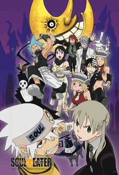 Soul,maka,Liz,patty,death,death the kid,subaki,black star,doctor stin,makas dad,and ect.