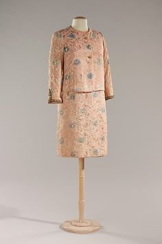 Dinner suit, Chanel, ca. 1964