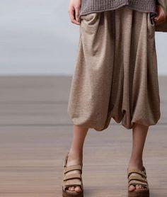 Apricot Causal Loose Summer Shorts 2016 Women Trouser K902A