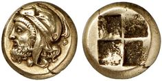 Extremely Rare Coin Of The Persian Satrap Pharnabazus IIThis unique and previously unknown ancient coin is an electrum hekte from Phocaea (map) in Ionia, struck around 410 BC. It shows the head of the Persian satrap Pharnabazus II wearing a Persian...