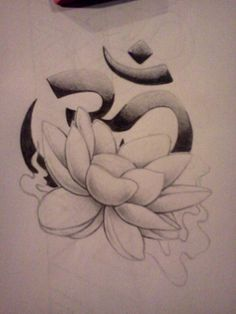 Lotus Om tattoo