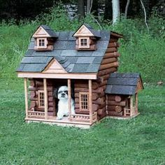 luxury outdoor dog house