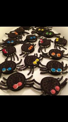 Oreo spiders for bug party - need an alternative to liquorice legs