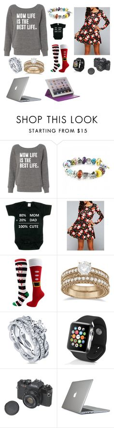 """Her Christmas gifts"" by caiden-and-jay ❤ liked on Polyvore featuring Bling Jewelry, Humör, Allurez, BERRICLE, Apple, Speck and M-Edge"