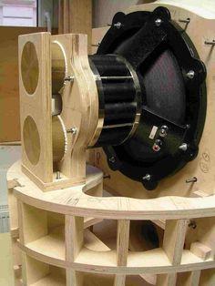 Open Baffle Speakers, Pro Audio Speakers, Audiophile Speakers, Horn Speakers, Diy Speakers, Car Audio, Diy Amplifier, Speaker Box Design, Hobby Electronics