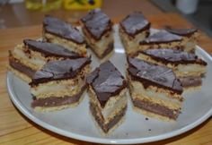 Szilvia tészta | NOSALTY Hungarian Desserts, Home Baking, Cake Cookies, Nutella, Dessert Recipes, Food And Drink, Pie, Candy, Chocolate