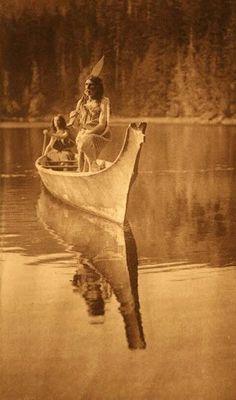 Nootka men – 1912. Simply beautiful photograph.