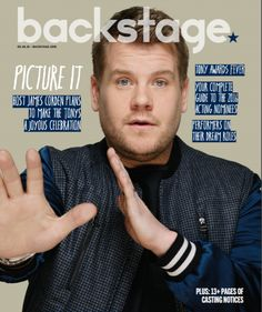 James Corden shares why he's dying to host the Tony Awards—plus, his thoughts on the (unpredictable) career of an actor! The Late Late Show, Magazine Covers, Backstage, Acting, Awards, Career, Interview, It Cast, Thoughts
