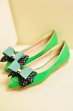 $20.65 2013 new women\s shoes European style wild bow flat shoes -zzkko.com/pic