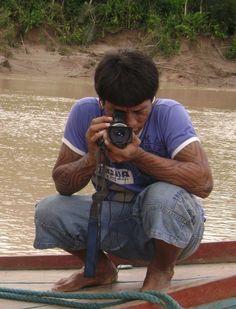 """Nilson Tuwe Huni Kuin, diretor do filme """"Nós e os Brabos"""", que participa da Aldeia SP - Bienal do Cinema Indígena. CRÉDITO: Divulgação ***DIREITOS RESERVADOS. NÃO PUBLICAR SEM AUTORIZAÇÃO DO DETENTOR DOS DIREITOS AUTORAIS E DE IMAGEM***"""