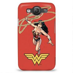 Wonder Woman Orange Phone Case for iPhone and Galaxy