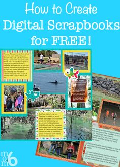 This is a 6 part series which will teach you How to Create Digital Scrapbooks for Free!